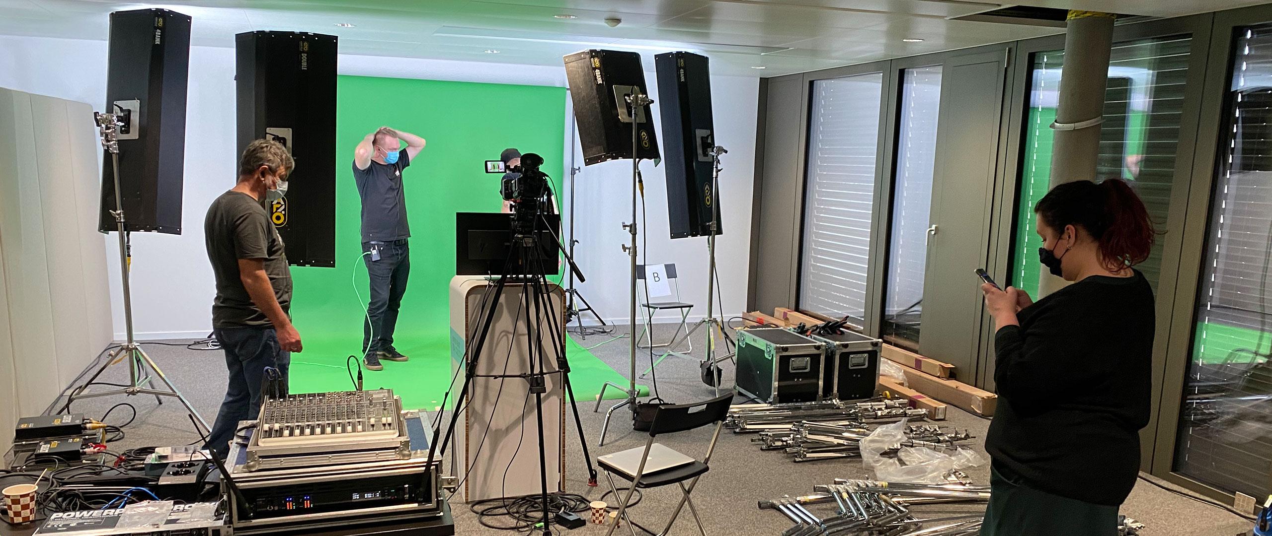 Montage studio éphemère